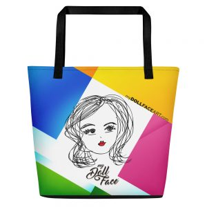 Isabel - Beach Bag - My Doll Face