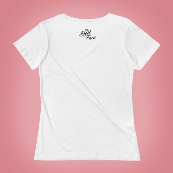 White T-Shirt – White - My Doll Face Art