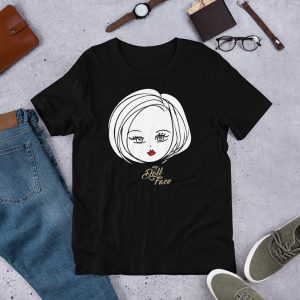 Danielle T-Shirt – Black - My Doll Face Art
