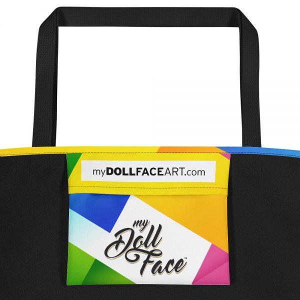 Isabel - Beach Bag inside pocket My Doll Face