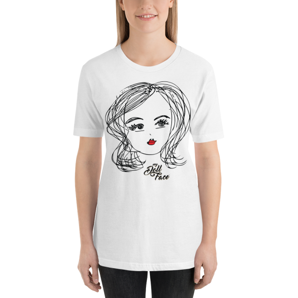 Doll Face - Isabel tshirt - white - front